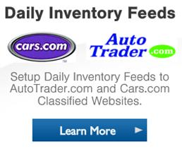 AutoTrader.com, Cars.com Inventory Feeds