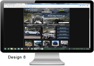 Car Dealer Websites. Design #8.