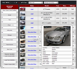 Car Dealer Website Inventory Page Type 1
